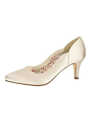 Bridal Shoe Butterscotch - In White Shop