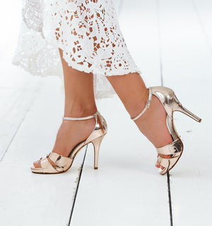 Bridal Shoe Cate rosé - In White Shop