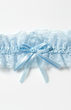 Blue garter KB-55 blue - In White Shop