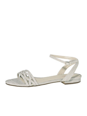 wedding slipper Faye silver