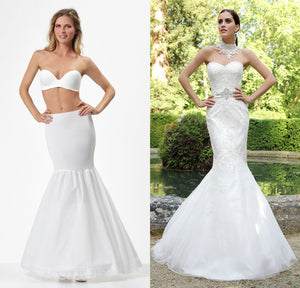 wedding dress hoepel