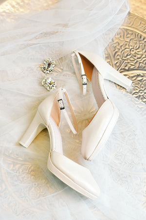 Bridal shoe Lidy ivory