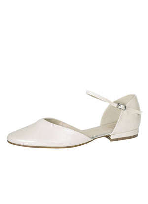 Flat Bridal Shoe Little Rosie