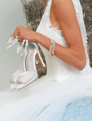 Wedding shoe Noralie - In White Shop