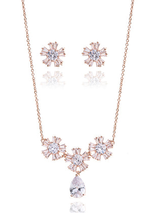 G. Westerleigh DZ0511RG jewellery set - In White Shop