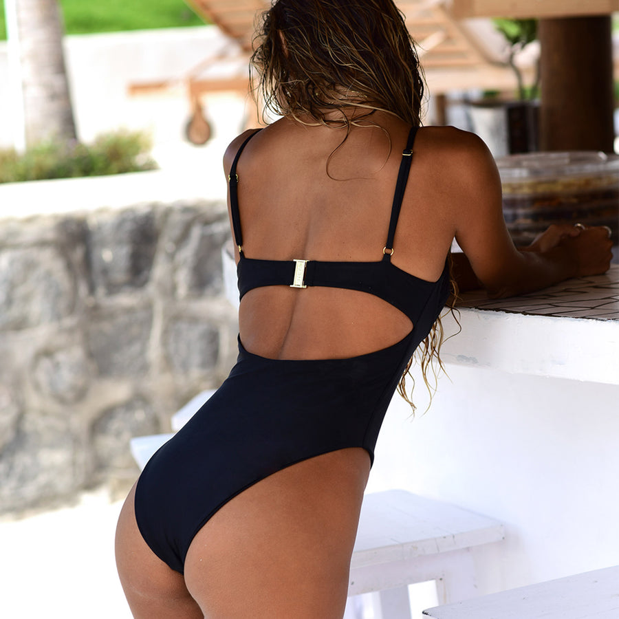 ELLY BLACK ONE PIECE - VDM