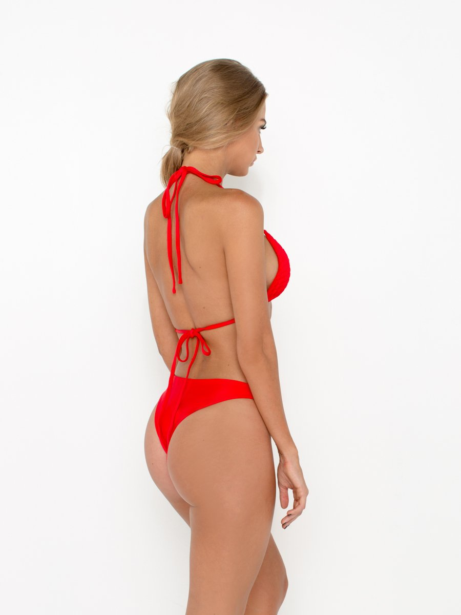 ROZANNA BOTTOM - RED - VDM