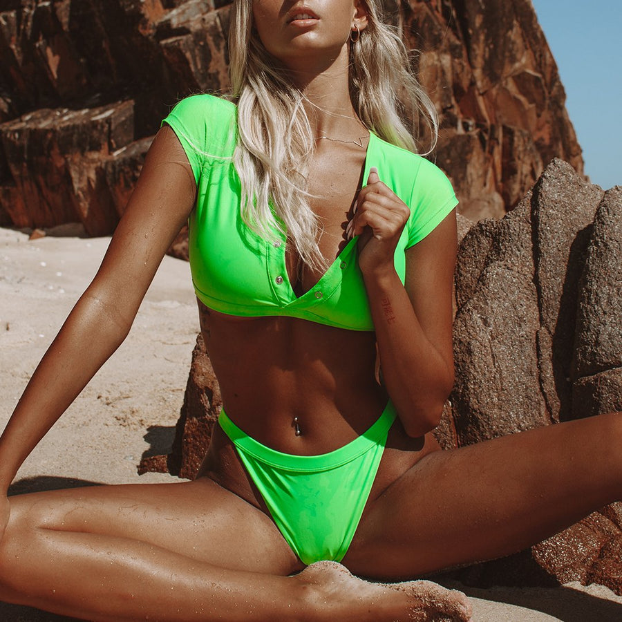 INDIE NEON GREEN BOTTOM - VDM