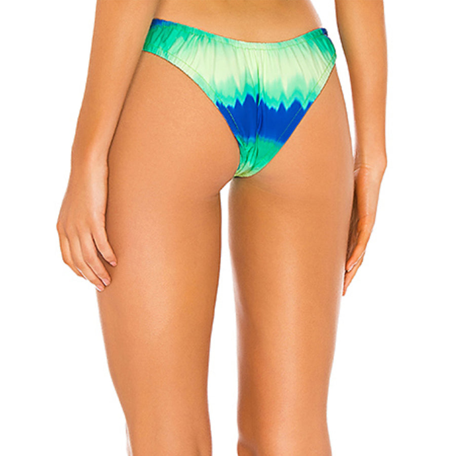 STEVIE NEON TIE-DYE ELASTICATED BIKINI BOTTOM | PRE ORDER ONLY | SHIPPING MID JULY