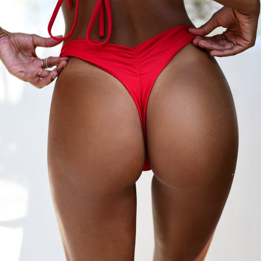 VERA BOTTOM - RED
