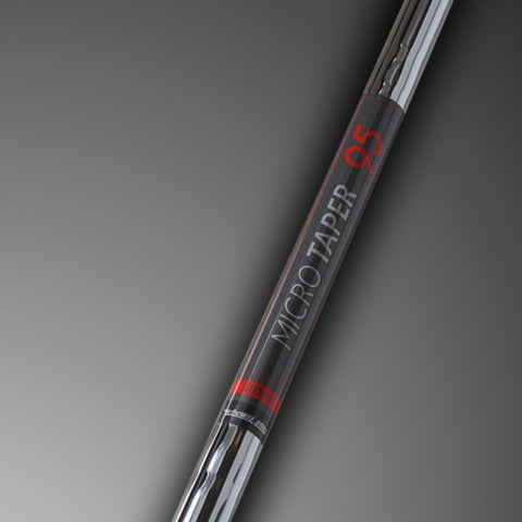 TRUE TEMPER MICRO-TAPER 95S .370 TIP IRON SHAFT