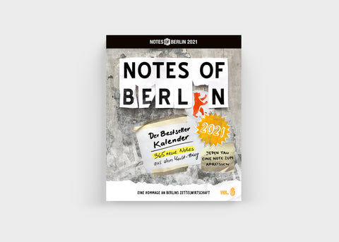 "Abreißkalender ""Notes of Berlin"" 2021/ Seltmann & Söhne"