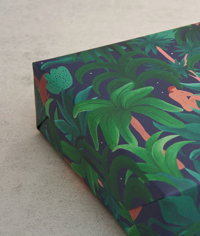 "Geschenkpapier ""Night Jungle""/ Wrap"