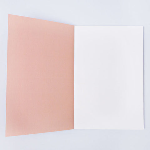 "Notizbuch ""Burnt Peach Shadow Brush A5 Flat Lay Notebook"" / The Completist"