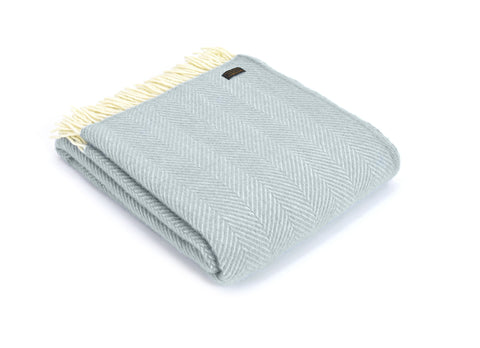 "Wolldecke ""Fishbone""/ Tweedmill"