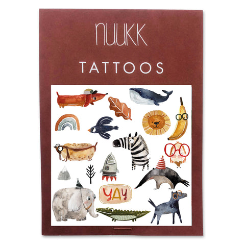 "Bio Tattoos ""Yay""/ Nuukk"