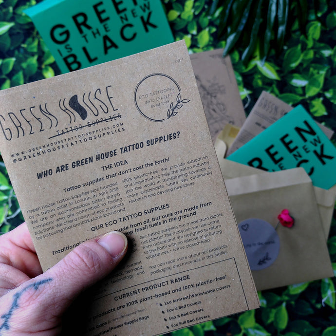 Eco-Tattooing Info Leaflet