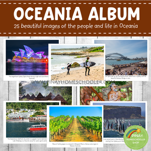 Australia/Oceania Montessori Geography Folder - Photos