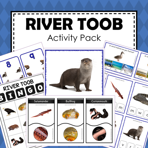 Safari Toob River Preschool Kindergarten Activity Pack