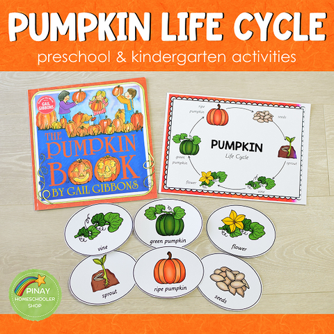 Pumpkin Life Cycle Set - Preschool & Kindergarten