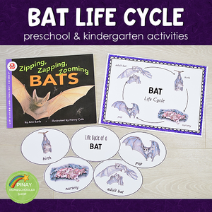 Bat Life Cycle Set - Preschool & Kindergarten