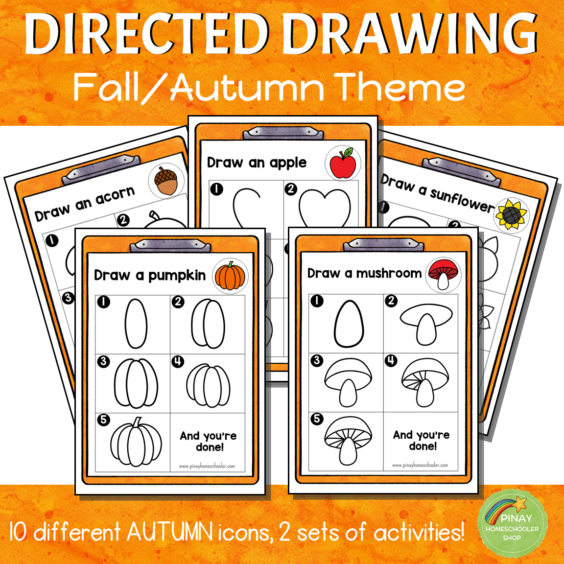 Directed Drawing - Autumn Theme