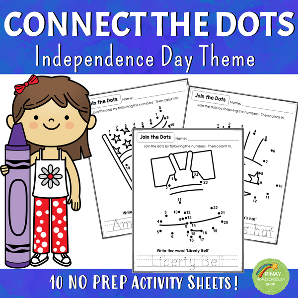 80 Connect the Dots Activity Sheets - HOLIDAY BUNDLE