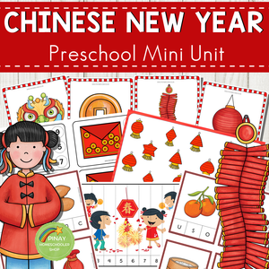 Chinese New Year Preschool and Kindergarten Mini Unit Activities
