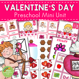 Valentine's Day Preschool Mini Unit