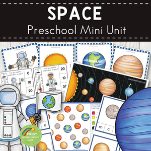 Space and Solar System Preschool and Kindergarten Mini Unit Activities