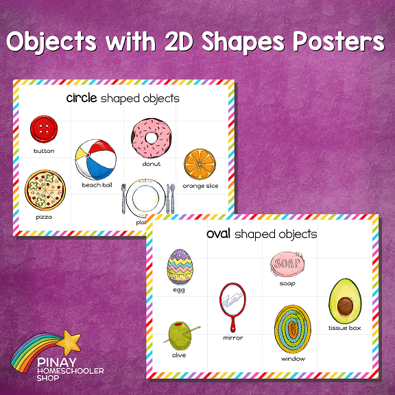 2D Shapes in Real Life Learning Pack