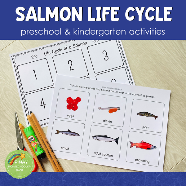 Salmon Life Cycle Activity Set