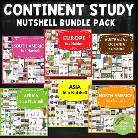 Nutshell Geography Series Bundle