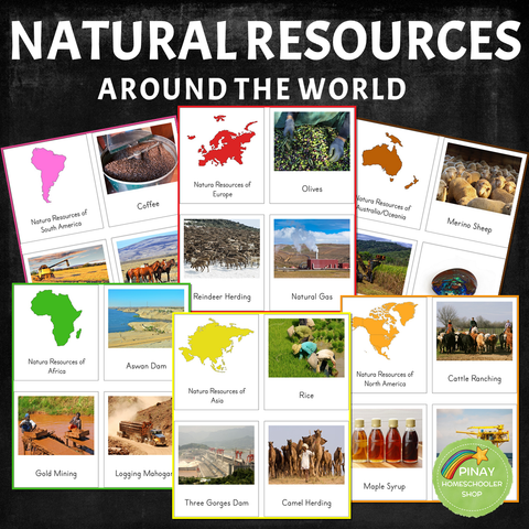 Montessori Natural Resources Around the World