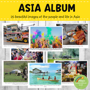 Asia Montessori Geography Folder - Photos