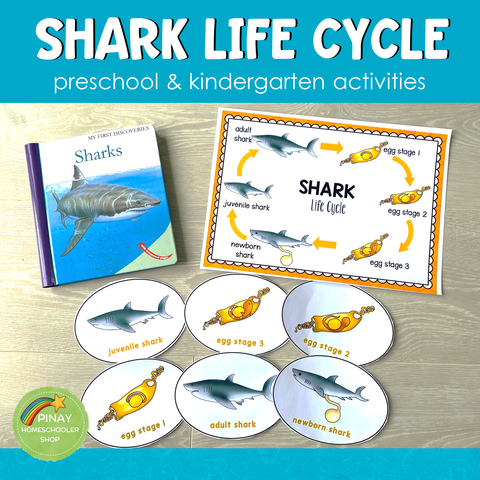 Shark Life Cycle Set - Preschool & Kindergarten