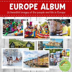 Europe Montessori Geography Folder - Photos