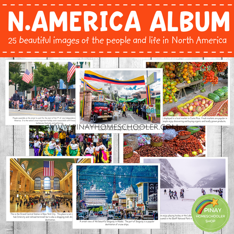 North America Montessori Geography Folder - Photos