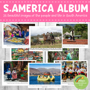 South America Montessori Geography Folder - Photos