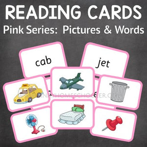 Montessori  Pink Series: 100 Pictures and Words