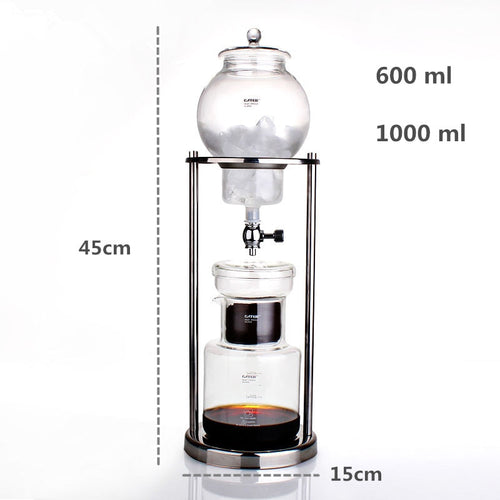 600 ml / 1000 ml Water Drip Coffee Maker