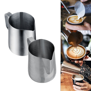 350 ml/600 ml Stainless Steel Espresso Coffee Milk Frothing Pitcher for Barista