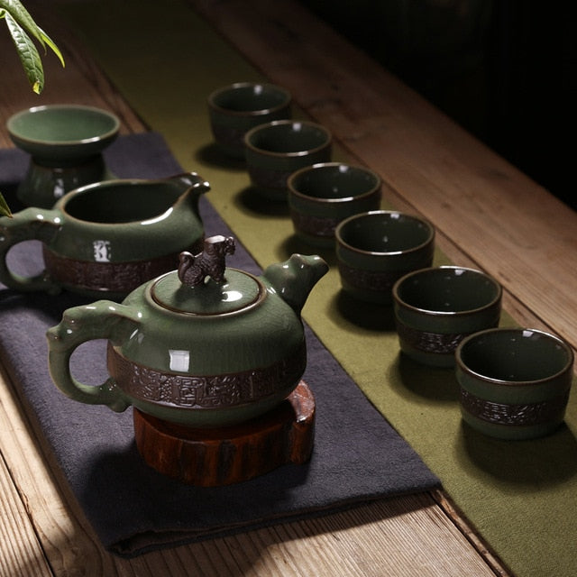 9 Pieces / Set Tea Service / Tea Cup