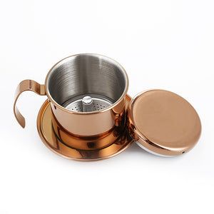 Vietnam Coffee Pour Over Dripper Single Cup Brewer