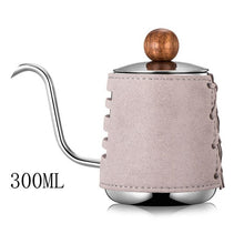 Stainless Steel No handle Anti-hot Coffee Drip Kettle
