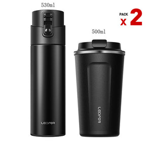 Stainless Steel Vacuum Flask Thermo Mug