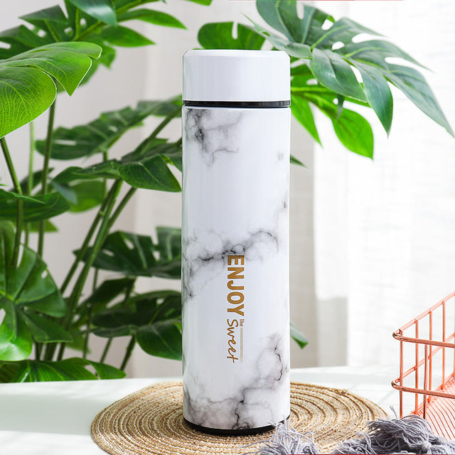 Marble Stainless Steel Vacuum Flasks