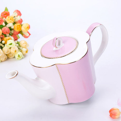 Advanced Ceramic Tea Pot With Tea Infuser Kettle Set