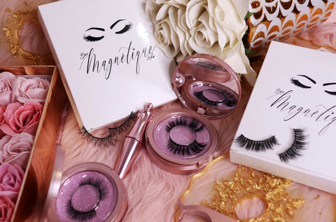 Magnetic Lashes sold by Bree Maquillage