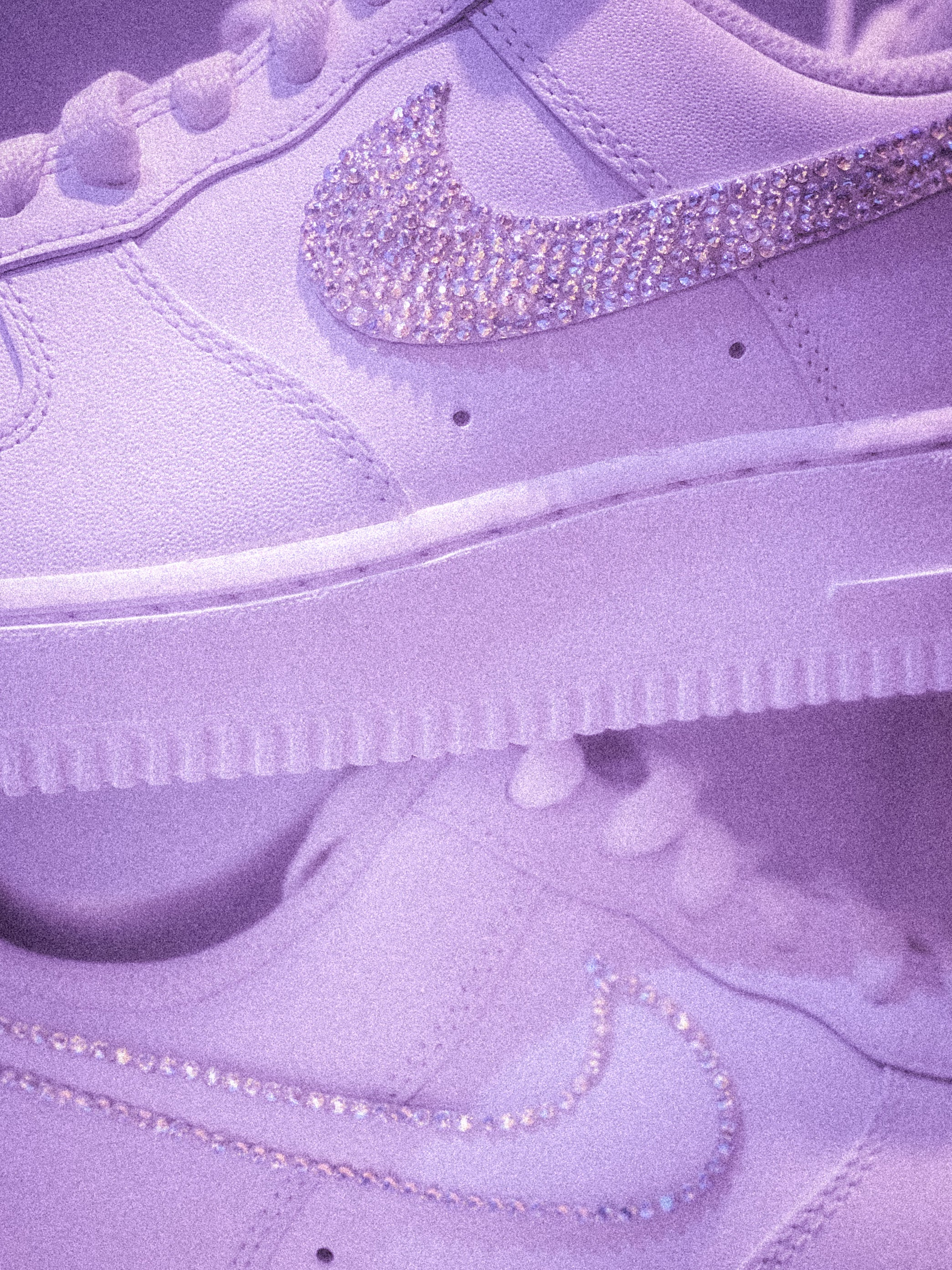 Custom Swarovski Air Force One